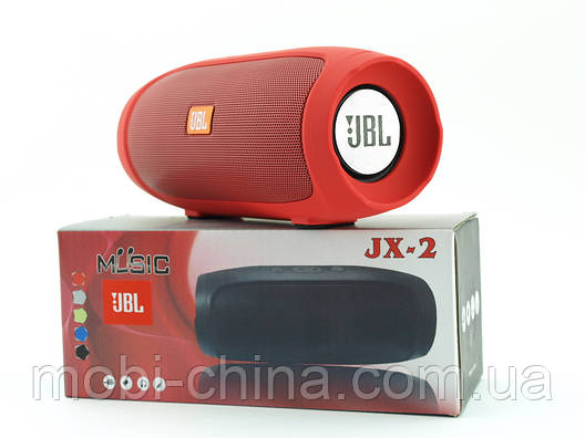 JBL Charge 4 mini jx-2 3W копия, Bluetooth колонка с FM MP3, красная, фото 2