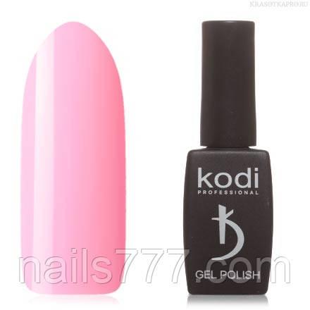 Гель лак Kodi  №50P, нежно-розовый
