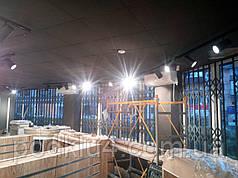 Раздвижные решетки на эркерный фасад