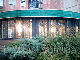 Раздвижные решетки на эркерный фасад, фото 3