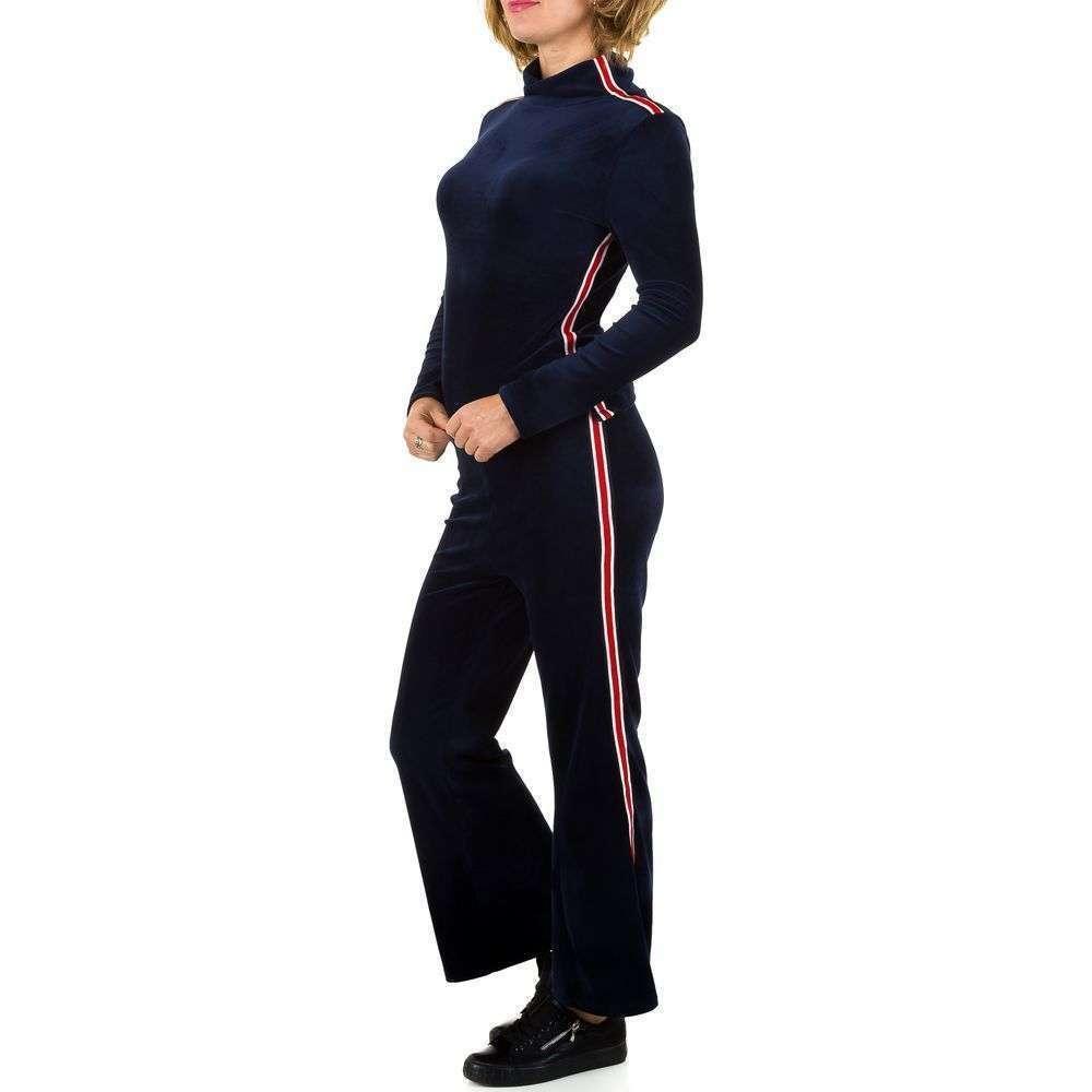 Женский костюм - синий - KL-JW225-синий