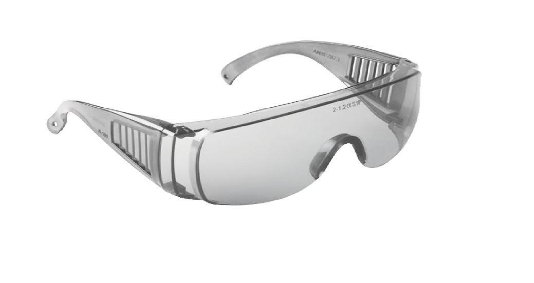 Захисний окуляри STARLINE відкриті /G-026A-C/, прозорі лінзи