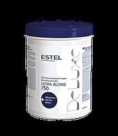 Estel professional Обесцвечивающая пудра для волос DE LUXE ULTRA BLOND, 750 мл