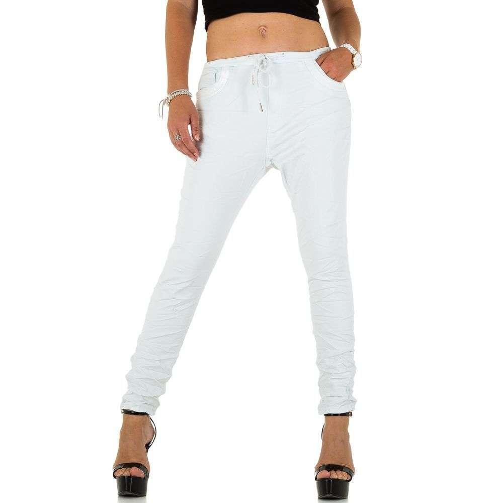 Женские джинсы от Place Du Jour blanc - KL-J-93929-Блан