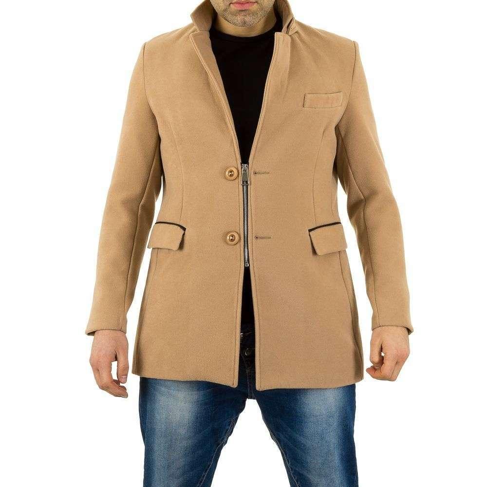 Пальто мужское на молнии Uniplay (Европа), Бежевый