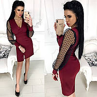 СА71201 Женское платье разные цвета