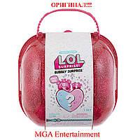 Кукла Лол LOL чемодан Шипучий сюрприз и сердце сюрприз розовый L.O.L. Surprise! Bubbly Surprise Pink, фото 1