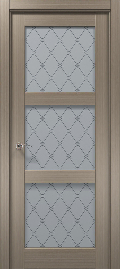 Межкомнатные двери Cosmopolitan CP -507 /оксфорд/бевелс/сатин/