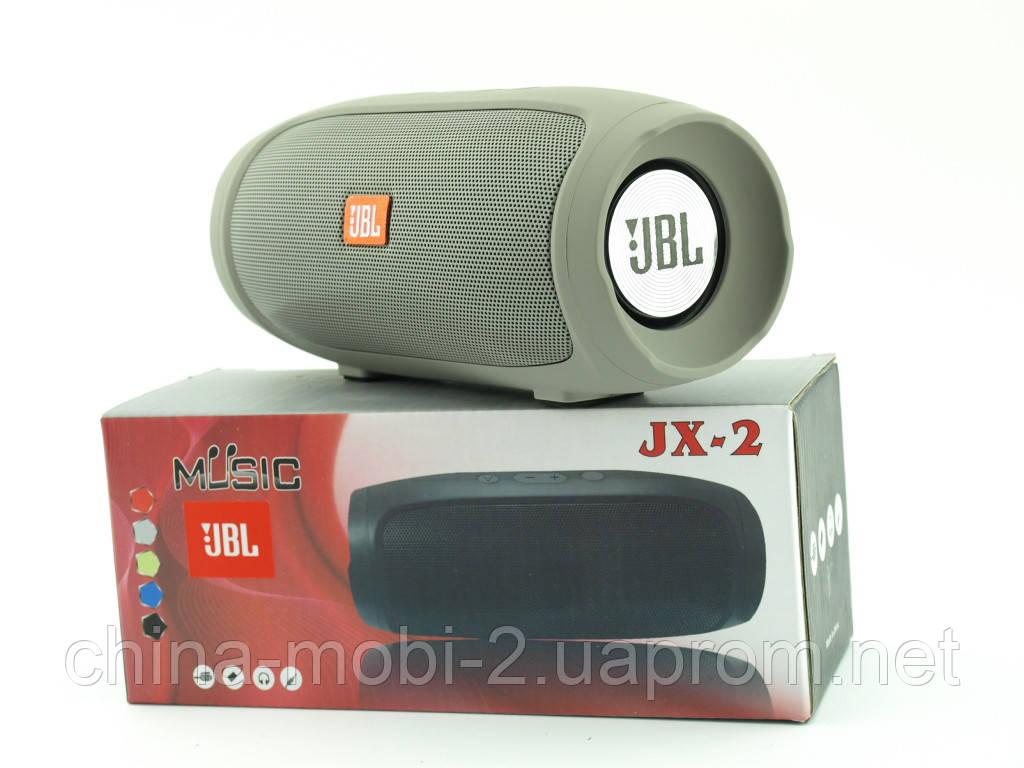 JBL Charge 4 mini jx-2 3W копия, Bluetooth колонка с FM MP3, серая
