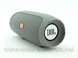 JBL Charge 4 mini jx-2 3W копия, Bluetooth колонка с FM MP3, серая, фото 3
