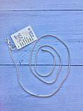 Серебряная цепочка плетение снейк (женская), фото 6