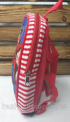 """Детский тканевой рюкзак красного цвета, """"Spider Man"""", регулируемые лямки, фото 2"""