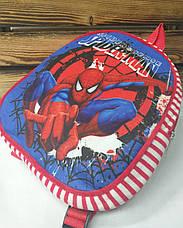 """Детский тканевой рюкзак красного цвета, """"Spider Man"""", регулируемые лямки, фото 3"""