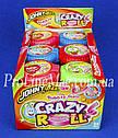 Жевательная резинка JOHNY BEE® Crazy Roll рулетка фруктовая, фото 2