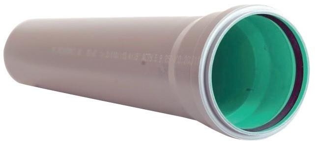 Труба канализационная трехслойная 50/1,8 х250