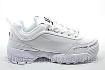 Белые кроссовки в стиле Fila Disruptor 2 x ALIFE, 2019, фото 2