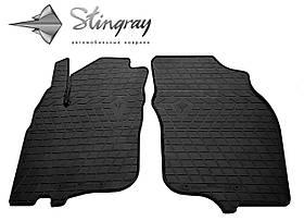 Передние резиновые коврики Mitsubishi Carisma 1995- Stingray (2шт/комп) 1013172