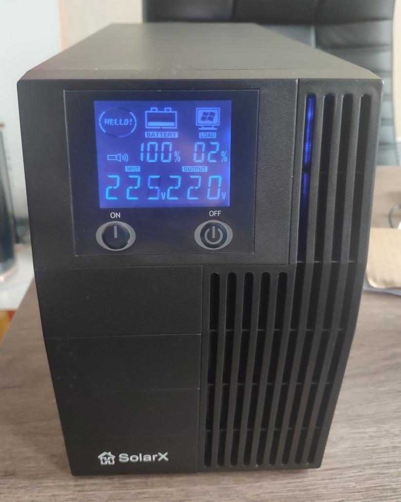 Джерело безперебійного живлення ДБЖ UPS ДБЖ SolarX SX-LE500T/03