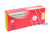 Градиа Дайрект Фло (Gradia Direct Flo, GC), шприц 1,5г, фото 1
