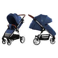 Коляска прогулочная CARRELLO Milano CRL-5501 Velvet Blue +дождевик