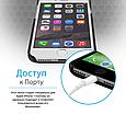 Чехол для iPhone Promate Metal-I7 Grey, фото 6