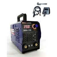 Сварочный аппарат инверторный с дисплеем 250А, Ø до 5.0мм, anti-stick VEGA (MMA-250) Собственный импорт, фото 1