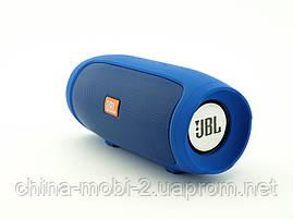 JBL Charge 4 mini jx-2 3W копия, Bluetooth колонка с FM MP3, синяя, фото 2