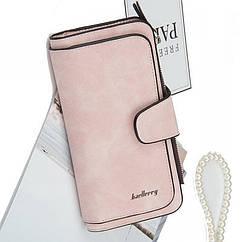 Кошелек-клатч Baellerry Forever женский светло розовый