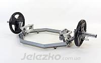Трэп гриф для становой тяги ∅50 мм с замками, фото 1
