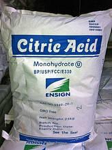 Лимонная кислота моногидрат Е330 Китай мешок 25 кг