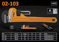 """Ключ трубный 250мм тип """"Stillson"""", Ra-25мм,  NEO  02-103"""