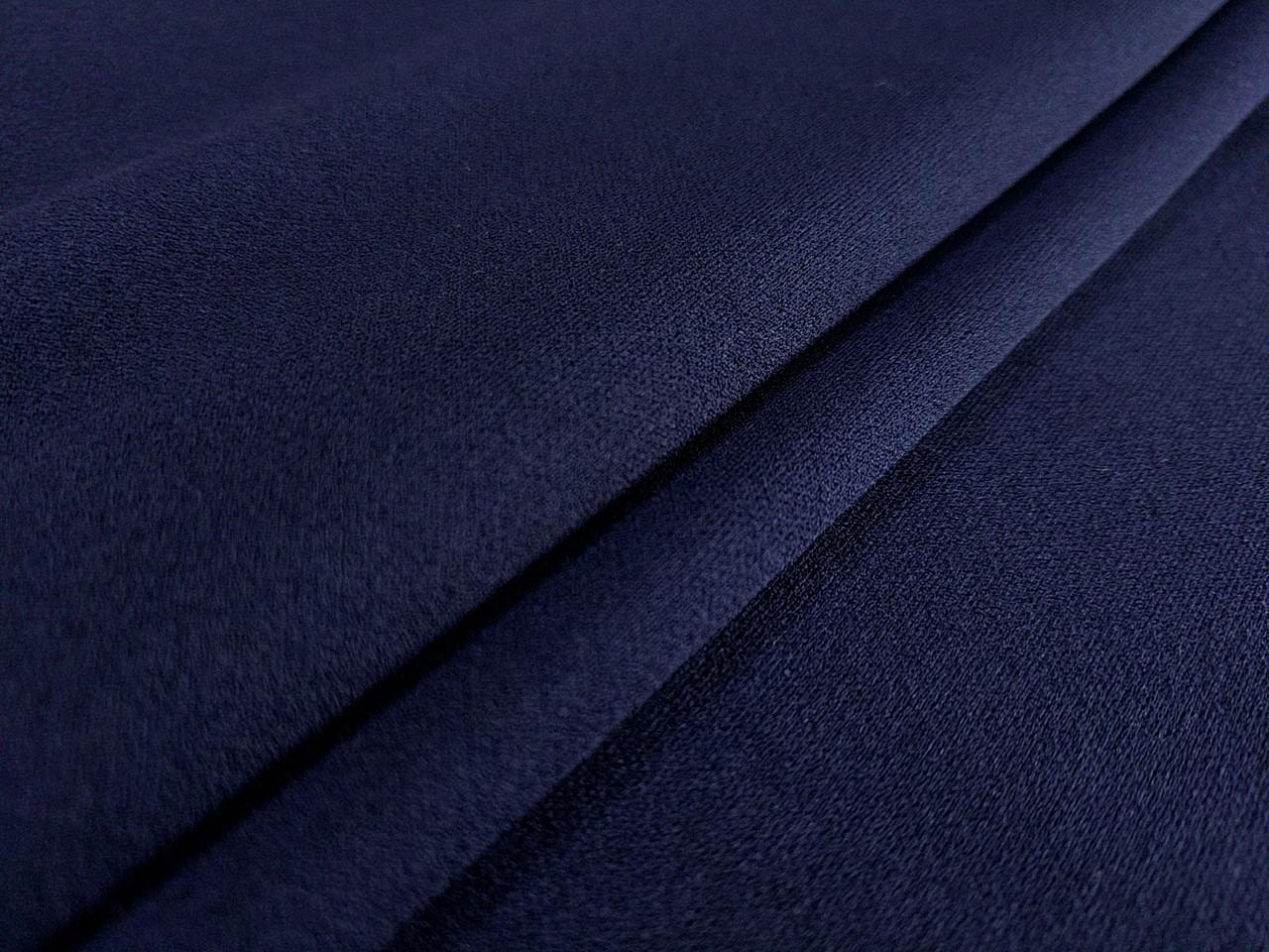 Креп дайвинг, темно-синий