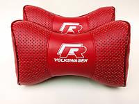 Подголовник (подушка) VOLKSWADEN R-LINE RED