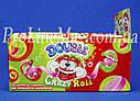 Жевательная резинка JOHNY BEE® Double Crazy Roll рулетка фруктовая, фото 2