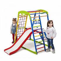 Детский спортивный комплекс для дома SportWood Plus 2, фото 3