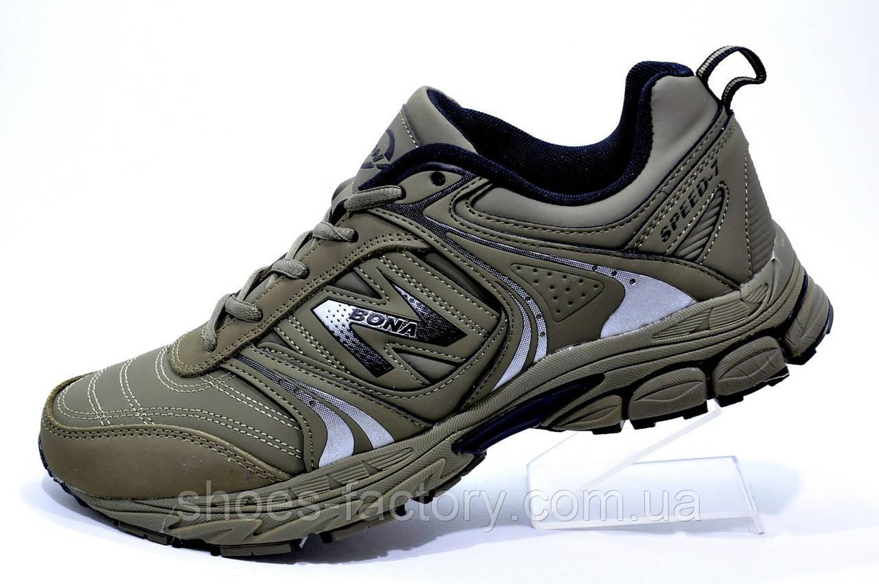 3f12df96 Мужские кроссовки для бега Bona 2019, Оливковые (Бона) - Интернет магазин  спортивной обуви