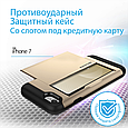 Чехол для iPhone Promate vaultCase-I7 Gold, фото 2