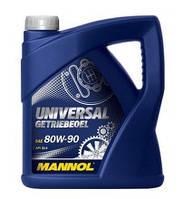 Трансмиссионное масло Mannol Universal 80W90 GL-4 4L
