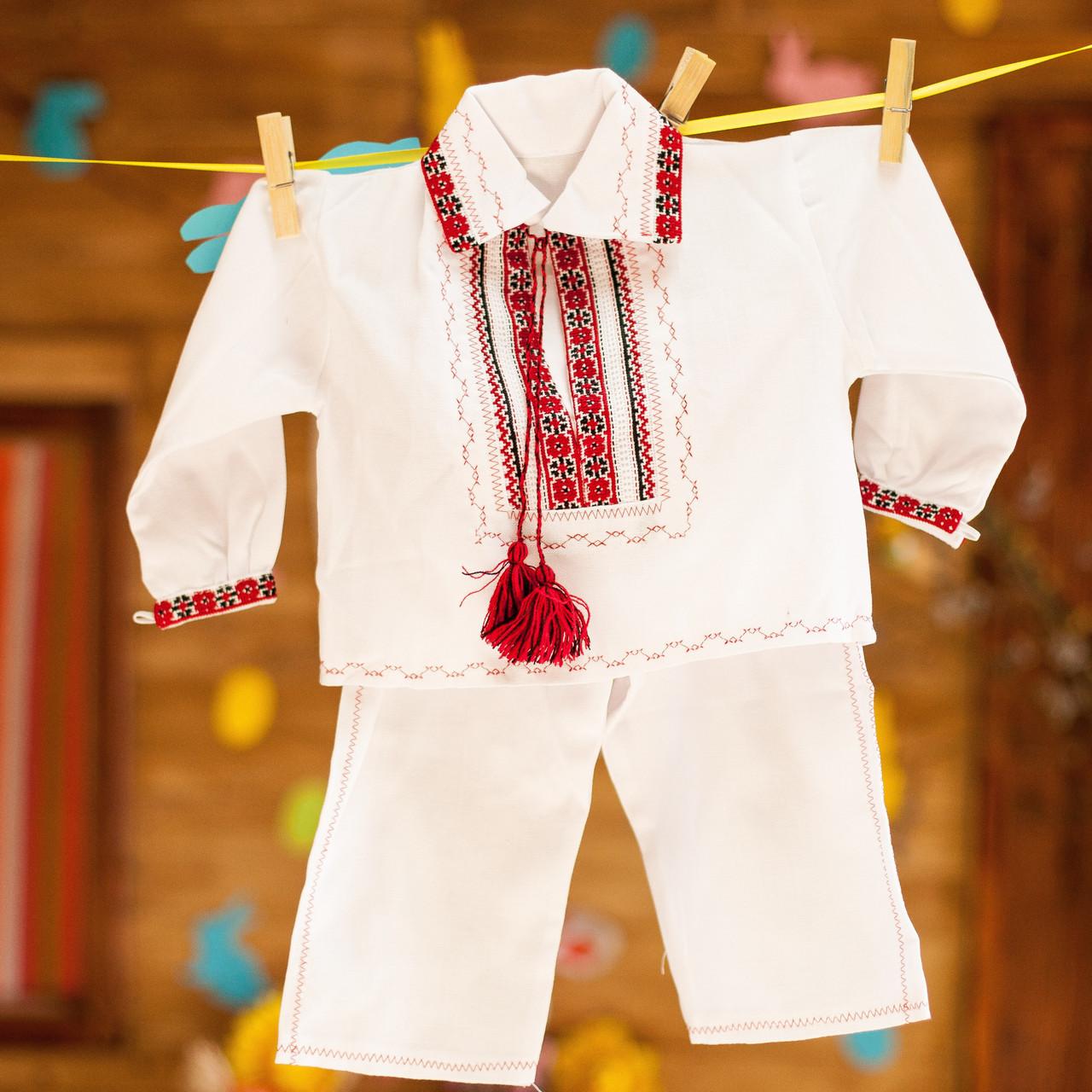 Вишитий костюм для хрестин (ручна вишивка 66f24417d1868