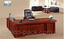 Стол руководителя с двумя мобильными тумбами