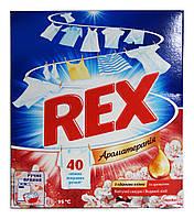 Порошок Rex Ароматерапия Цветущая сакура и Водяная лилия для ручной стирки - 350 г.