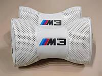 Підголовник (подушка) BMW M3 WHITE