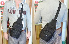 Сумка мужская через плечо. Сумка слинг - органайзер. Городской рюкзак однолямочный. Тактическая сумка-рюкзак.
