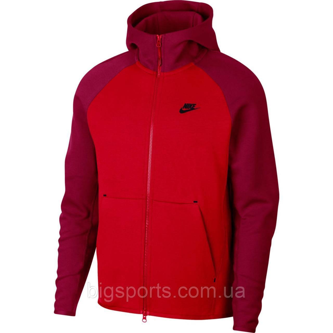 3ba1989f Кофта муж. Nike M Nsw Tch Flc Hoodie Fz (арт. 928483-657): продажа ...