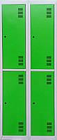 Шкаф металлический для одежды,ШОМ 300-2-4.  Шкаф в раздевалку, Шкаф одёжный в школу, Шафа металева для одягу