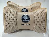 Подголовник (подушка) SKODA BEIGE, фото 1