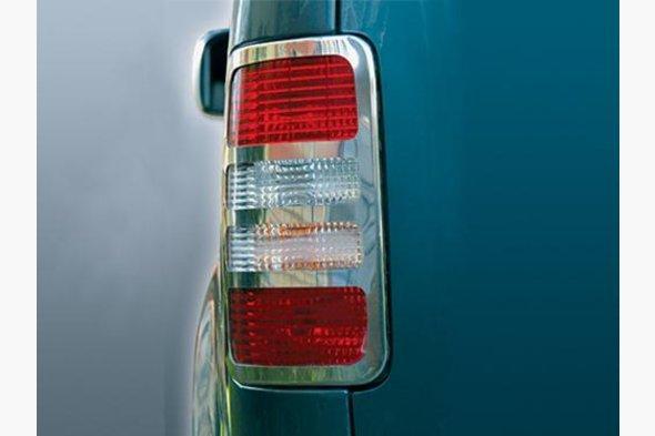 Накладки на стопы (2 шт, нерж) Volkswagen Caddy 2004-2010 гг. / Volkswagen Caddy 2010-2015 гг.