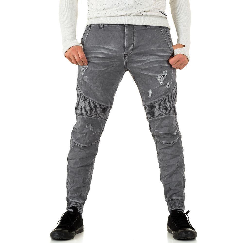 Мужские джинсы Y. Two Jeans, размер 30 - grey - KL-H-J2835-grey 30