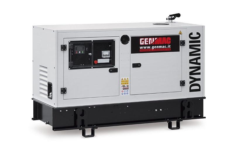 Трехфазный дизельный генератор Genmac Dynamic G20PS (18 кВт)