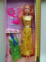 Кукла-барби ДПиА с дополнительным платьем и аксессуарами (лялька барбі Barbie з платтям та аксесуарами)